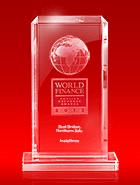 World Finance Awards 2013 - The Best Broker in Northern Asia