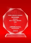 Capital Finance International  - Best Broker in Asia 2015