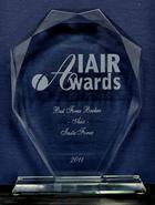 IAIR Awards 2011 - The Best Broker in Asia