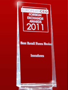 European CEO Awards 2011 – The Best Retail Broker